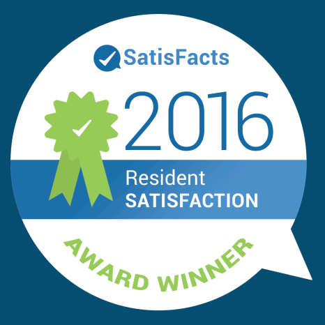 Satisfact: 2016 Resident Satisfaction