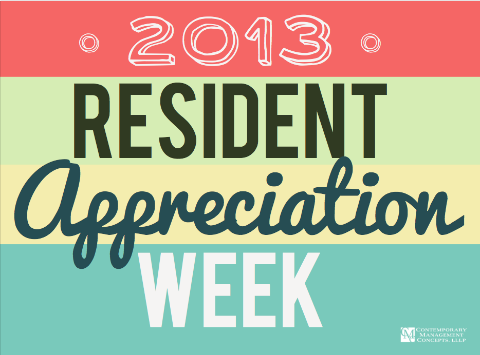 Day Four :: CMC's Resident Appreciation Week 2013