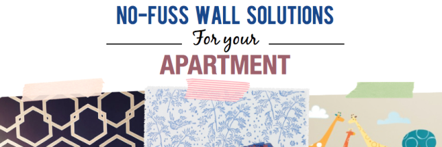 No-Fuss Wall Solutions for your apartment