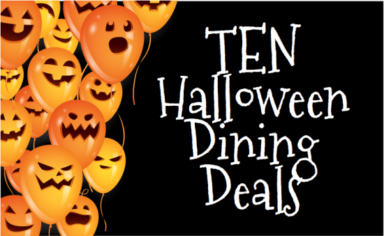 10 Halloween Dining Deals