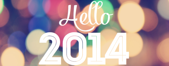 So long 2013. Hello 2014!