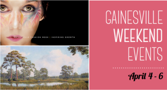 Weekend Events in Gainesville :: April 4 - 6